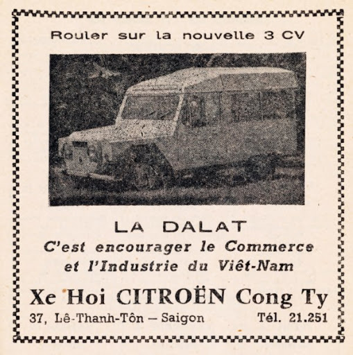 old advertising of LaDalat